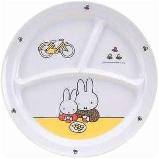 メラミンお子様食器 「ミッフィー」 CM-65C 丸ランチ皿 <RLVE901>