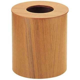 木製ルーム用ゴミ入れ 蓋付(チーク) 952 大 <VGM02952>