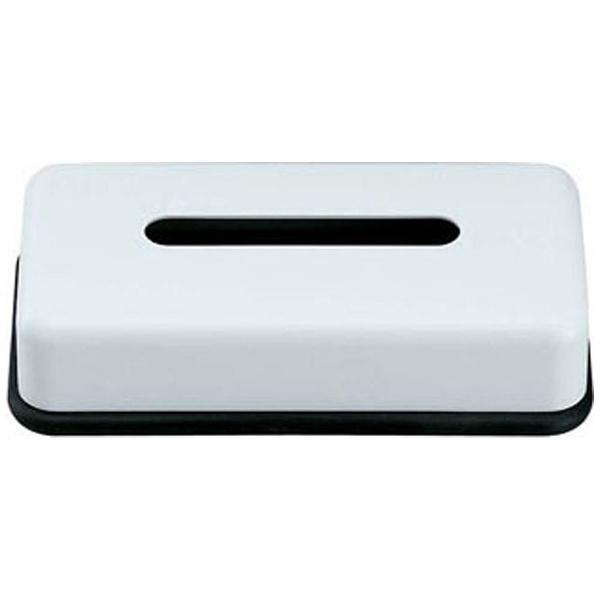 スリーライン メラミン ティッシュボックス 黒底 HW-1304 VTI2201