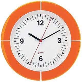 ウォールクロック 2895.0045 オレンジ <RGTE404>