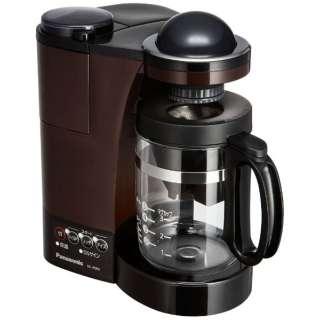 NC-R500 コーヒーメーカー パナソニック ブラウン [ミル付き]