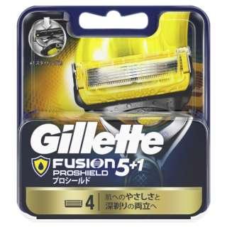 Gillette(ジレット) フュージョン 5+1 プロシールド 替刃4個入 〔ひげそり〕