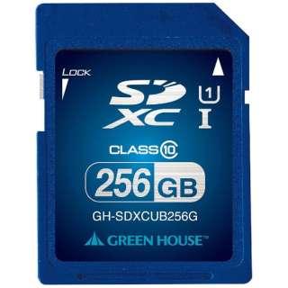 SDXCカード GH-SDXCUBシリーズ GH-SDXCUB256G? [256GB /Class10]