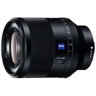 カメラレンズ T* FE 50mm F1.4 ZA Planar ブラック SEL50F14Z [ソニーE /単焦点レンズ]
