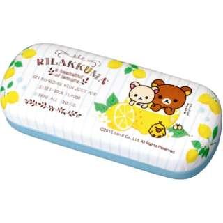 リラックマ メガネケース(フレッシュレモン/ホワイト)WH