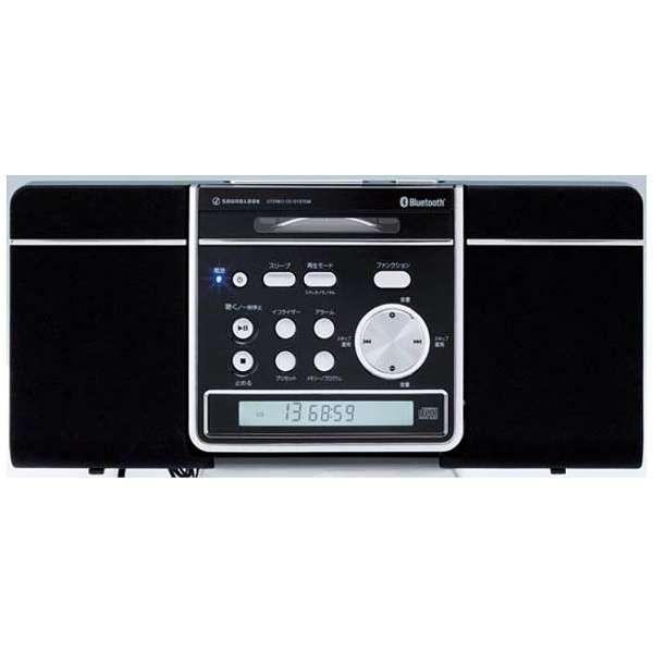 SDB-1601 CDラジオ SOUNOLOOK ブラック [Bluetooth対応 /ワイドFM対応]