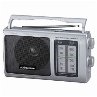 RAD-F2031M ホームラジオ AudioComm [AM/FM]