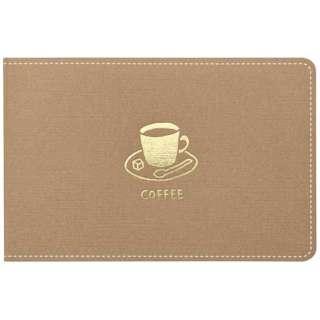 [付箋] 暮らしのキロク コーヒー 1冊25枚入り 3000チヤ