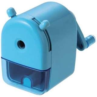 [鉛筆削り] ミニ卓上えんぴつけずり ブルー RS026BL