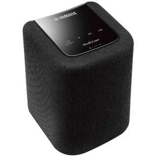 WX-010 WiFiスピーカー ブラック [Bluetooth対応 /Wi-Fi対応]