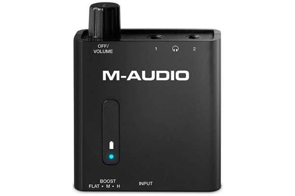 M-AUDIO「ポータブルヘッドホンアンプ」BASSTRAVELER
