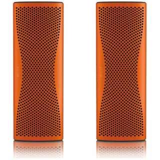 MUO ORANGEStereoPack ブルートゥース スピーカー サンセットオレンジ [Bluetooth対応]