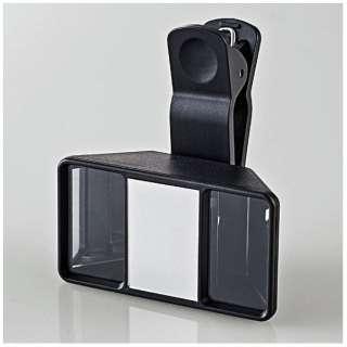 VR用[iPhone] 3D動画撮影レンズ ブラック P-VRL01BK