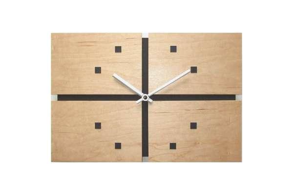 掛け時計のおすすめ21選 フォーカススリー「ジョイントクロック」V-089NA