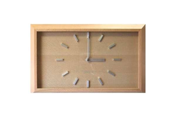 フォーカススリー「黄金比の時計」V-0005(電波時計)
