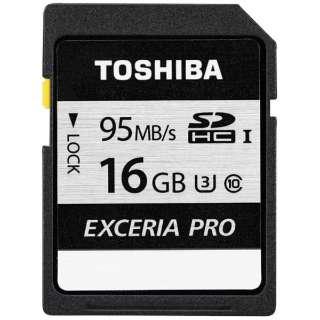 SDHCカード EXCERIA PRO(エクセリアプロ) SD-KU016G [16GB /Class10]
