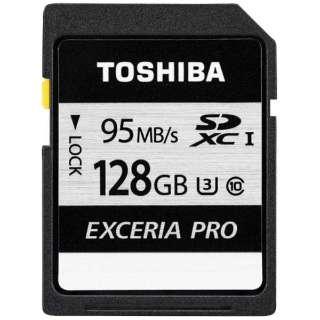 SDXCカード EXCERIA PRO(エクセリアプロ)SD-KUシリーズ SD-KU128G [128GB /Class10]