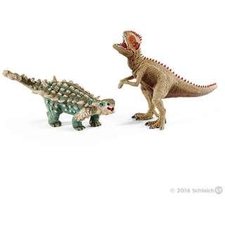 シュライヒ 41426 サイカニアとギガノトサウルス オス