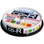 CD-R700EXWP.10RT C データ用CD-R [10枚 /700MB /インクジェットプリンター対応]
