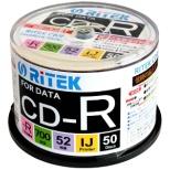 CD-R700EXWP.50RT C データ用CD-R [50枚 /700MB /インクジェットプリンター対応]