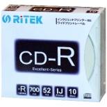 CD-R700EXWP.10RT SC N データ用CD-R [10枚 /700MB /インクジェットプリンター対応]