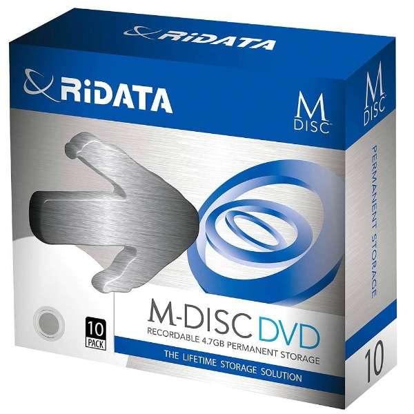 M-DVD4.7GB.PW10P データ用DVD+R [10枚 /4.7GB /インクジェットプリンター対応]