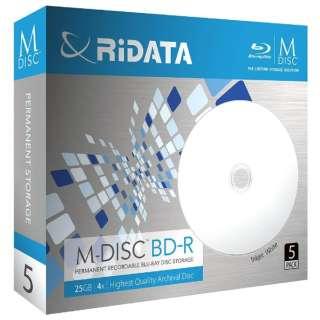 M-BDR25GB.PW5P データ用BD-R [5枚 /25GB /インクジェットプリンター対応]