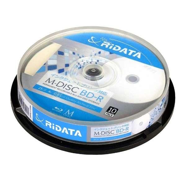 M-BDR25GB PW10SP データ用BD-R [10枚 /25GB /インクジェットプリンター対応]