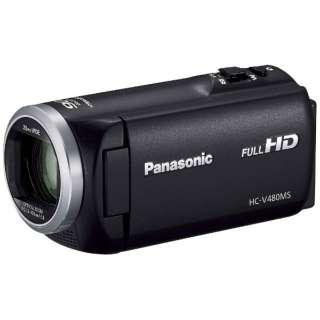 HC-V480MS ビデオカメラ ブラック [フルハイビジョン対応]