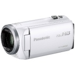 HC-V480MS ビデオカメラ ホワイト [フルハイビジョン対応]