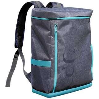 バックパック 「UPQ Bag BP01 BG」 ブルー・バイ・グリーン