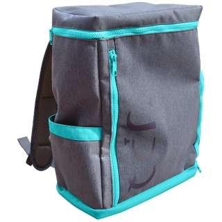バックパック 「UPQ Bag BP02 mini BG」 ブルー・バイ・グリーン