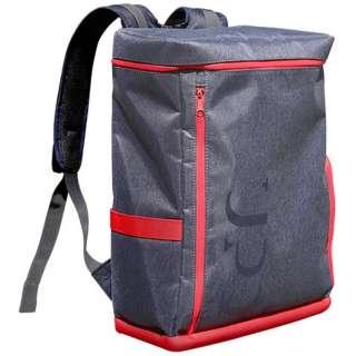 バックパック 「UPQ Bag BP01 NR」 ネイビー・アンド・レッド