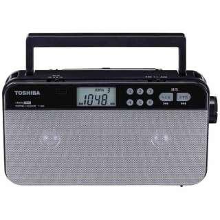 TY-SR55 ホームラジオ シルバー [AM/FM /ワイドFM対応]