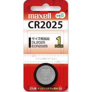 【リチウムコイン電池】 CR2025 (1個入り) CR20251BTBC
