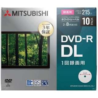 VHR21HP10D1-B 録画用DVD-R [10枚 /8.5GB /インクジェットプリンター対応]