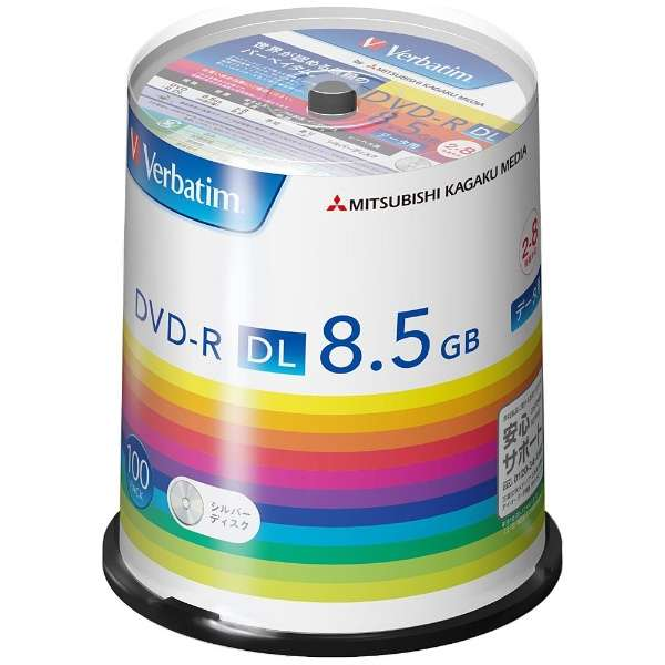 DHR85H100SV1 データ用DVD-R [100枚 /8.5GB]