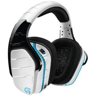 G933RWH ゲーミングヘッドセット 白 [φ3.5mmミニプラグ+USB /両耳 /ヘッドバンドタイプ]