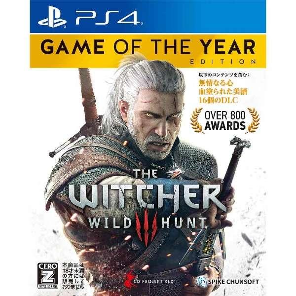 ウィッチャー3 ワイルドハント ゲームオブザイヤーエディション【PS4ゲームソフト】