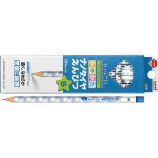 [鉛筆] ナノダイヤえんぴつ 6901 青 (硬度:B、軸型:六角形) 1ダース K6901B