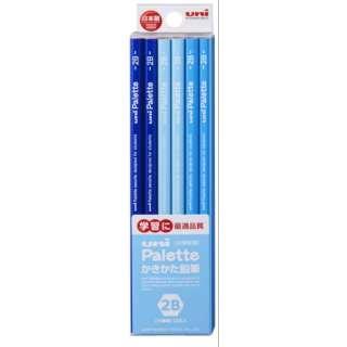[鉛筆] ユニパレット ユニスター パステルブルー (硬度:2B) 1ダース K55602B