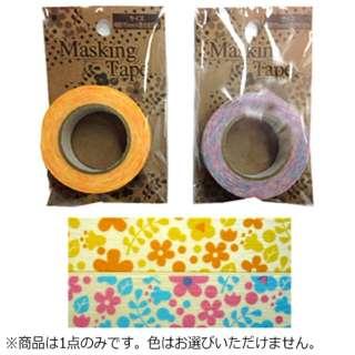 マスキングテープ お花 MKT-31【色指定不可】