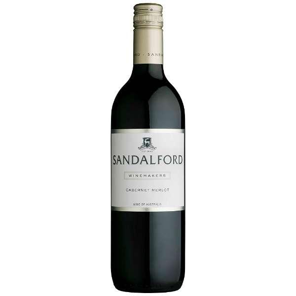 サンダルフォード ワインメーカーズ カベルネ/メルロー 750ml【赤ワイン】