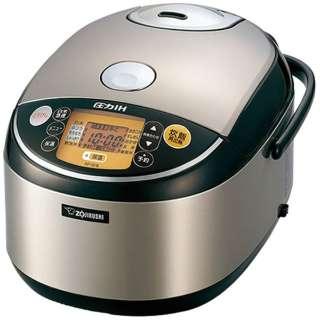 炊飯器 極め炊き ステンレス NP-IG18-XA [圧力IH /1升]