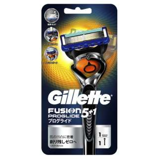 With one Gillette (Gillette) fusion 5+1 pro Gruid flextime ball holder  trial Pack spare blade [shaver]