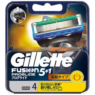 Gillette(ジレット) フュージョン 5+1 プログライド フレックスボール パワー 替刃 4個入 〔ひげそり〕