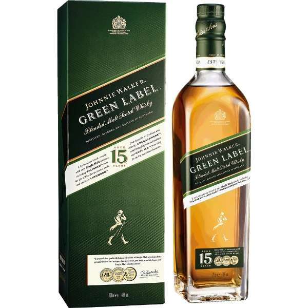 [正規品] ジョニーウォーカー グリーンラベル 15年 700ml【ウイスキー】