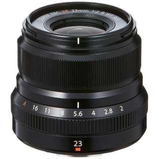 カメラレンズ XF23mmF2 R WR FUJINON(フジノン) ブラック [FUJIFILM X /単焦点レンズ]