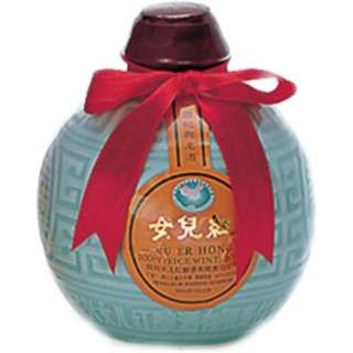 女児紅酒 (壺) 500ml【紹興酒】