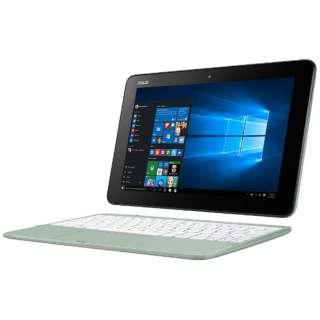 T101HA-GREEN ノートパソコン TransBook ミントグリーン [10.1型 /intel Atom /eMMC:64GB /メモリ:2GB /2016年9月モデル]